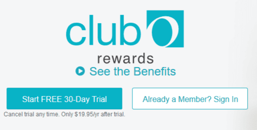 Overstock Club O Rewards